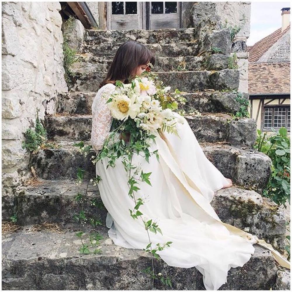 More gorgeous sneak peaks from France ✨✨✨ by the amazing @kaylabarkerphoto and @bowsandarrowsflowers thank you sooo much ladies!!! #givernyworkshop #bowsandarrowseurope #tatyanamerenyuk #tatyanamerenyukbridal #fashion #style #stylish #cute #tatyanamerenyukbridal #hair #beauty #beautiful #instagood #pretty #design #bridaldress #dress #wedding #weddingdress #bohochick #boho #whitedress #weddinginsporation #lace #bohemianwedding #bride #nycdesigner #bridal
