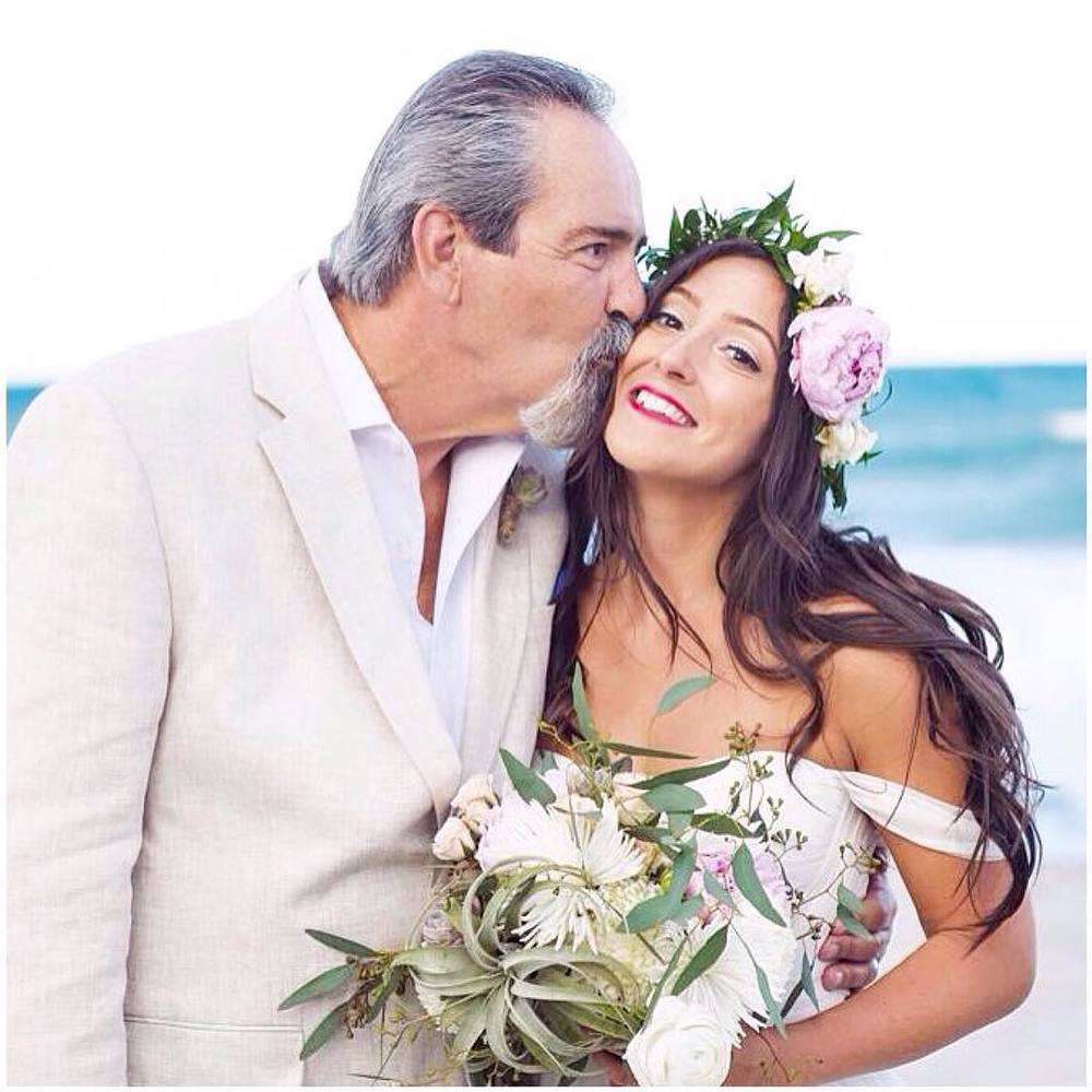 How stunning is my bride Loren with her proud daddy on her wedding day💕💕💕 lots of love to you @_nerol_ and happiness, love all the 🌸🌸🌸 #tatyanamerenyuk #tatyanamerenyukbridal #fashion #style #stylish #cute #tatyanamerenyukbridal #hair #beauty #beautiful #instagood #pretty #design #bridaldress #dress #wedding #weddingdress #bohochick #boho #whitedress #weddinginsporation #lace #bohemianwedding #bride #nycdesigner #californiabride #bridal #californiawedding