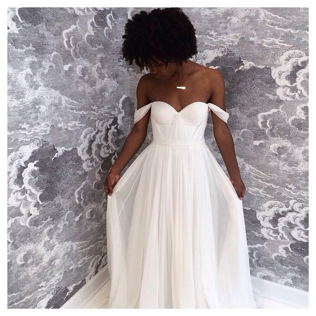 How gorgeous is this bride at @aliceinivorybridal ☺️ Chicago come and check out this gorgeous boutique with done seriously talented one of kind designers! Have a fun and happy Friday! 😛 #tatyanamerenyuk #tatyanamerenyukbridal #fashion #style #stylish #cute #tatyanamerenyukbridal #hair #beauty #beautiful #instagood #pretty #design #bridaldress #dress #wedding #weddingdress #bohochick #boho #whitedress #weddinginsporation #lace #bohemianwedding #bride #nycdesigner #chicagobride #bridal #chicagowedding