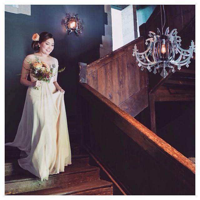 My beauty! ✨✨✨✨ in peachy pink;) Jacqui… #tatyanamerenyuk #tatyanamerenyukbridal #fashion #style #stylish #cute #tatyanamerenyukbridal #hair #beauty #beautiful #instagood #pretty #design #bridaldress #dress #wedding #weddingdress #bohochick #boho #whitedress #weddinginsporation #lace #bohemianwedding #bride #nycdesigner #californiabride #bridal #ukwedding
