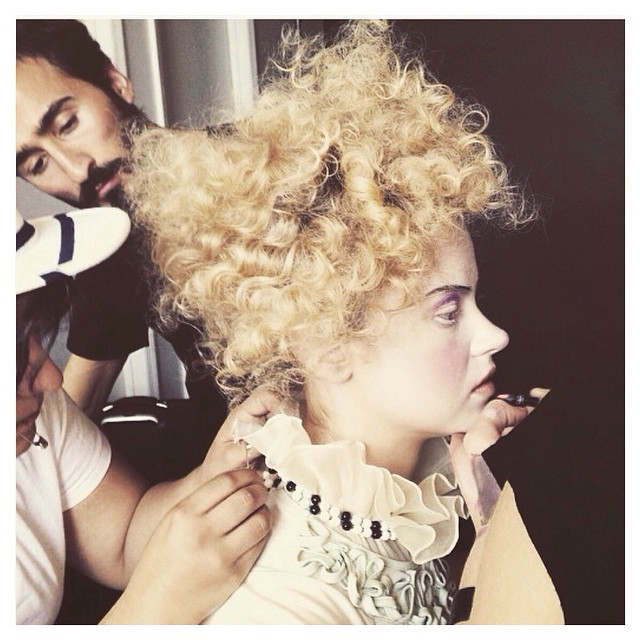 What a fun little outtake by the super talented @jess_mederos 😍 my blouse styled so Marie Antoinette, adore! That hair👍 #tatyanamerenyuk #tatyanamerenyukbridal #fashion #style #stylish #cute #tatyanamerenyukbridal #hair #beauty #beautiful #instagood #pretty #design #bridaldress #dress #wedding #weddingdress #bohochick #boho #whitedress #weddinginsporation #photoshoot