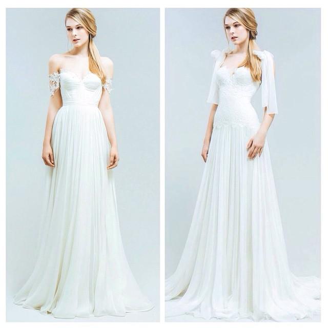 Say hello to Marlene & Audrey ✨✨✨ Happy Sunday! #tatyanamerenyuk #tatyanamerenyukbridal #fashion #style #stylish #cute #tatyanamerenyukbridal #hair #beauty #beautiful #instagood #pretty #design #bridaldress #dress #wedding #weddingdress #bohochick #boho #whitedress #weddinginsporation #lace #bohemianwedding #bride #nycdesigner #californiabride #bridal #nybridalmarket