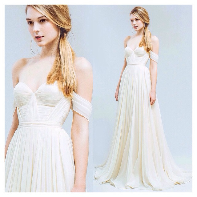"Just love this bestseller ""Natalie"" Gown… In buttery ivory ✨✨✨ Just so lovely 💕 Just sooo lovley💕✨✨ #tatyanamerenyuk #tatyanamerenyukbridal #fashion #style #stylish #cute #tatyanamerenyukbridal #hair #beauty #beautiful #instagood #pretty #design #bridaldress #dress #wedding #weddingdress #bohochick #boho #whitedress #weddinginsporation #lace #bohemianwedding #bride #nycdesigner #californiabride #bridal #californiawedding"