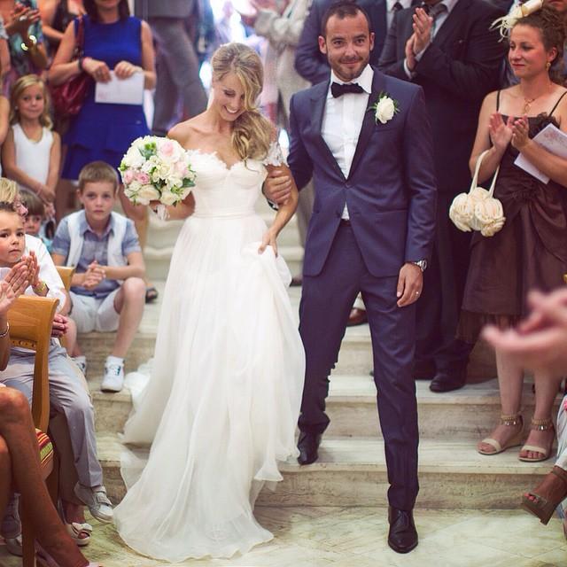 Talk about a family affair😍my French Bride Marine…what a stunner… #tatyanamerenyuk #tatyanamerenyukdesigns #fashion #style #stylish #cute #photooftheday #hair #beauty #beautiful #instagood #pretty #design #model #dress #wedding #weddingdress #bohochick #boho #whitedress #weddinginsporation #lace #bohemianwedding #bride #nycdesigner