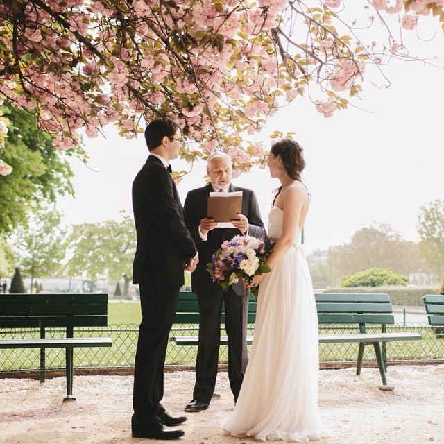 And why not get married in a park in France…oh how romantic🙏 loving my stunning brides! #tatyanamerenyuk #tatyanamerenyukdesigns #fashion #style #stylish #cute #photooftheday #hair #beauty #beautiful #instagood #pretty #design #model #dress #wedding #weddingdress #bohochick #boho #whitedress #weddinginsporation #lace #bohemianwedding #bride #nycdesigner