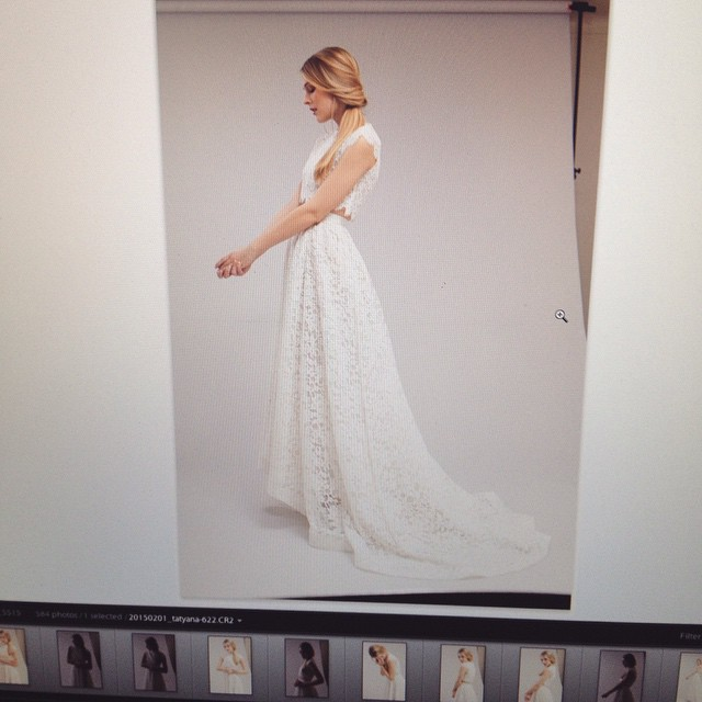 A little screen shot of yesterday's bridal lookbook shoot! It's so beautiful, I'm beyond thrilled to launch my bridal line! ❤️🙏❤ #tatyanamerenyuk #tatyanamerenyukdesigns #fashion #style #stylish #cute #photooftheday #hair #beauty #beautiful #instagood #pretty #design #model #dress #wedding #weddingdress #bohochick #boho #whitedress #weddinginsporation #lace #bohemianwedding #bride #nycdesigner