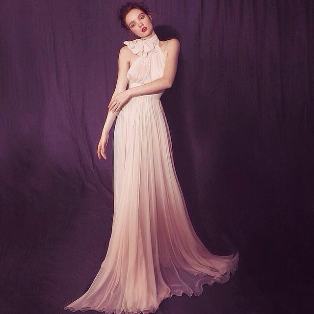 Blush pink, bows, and waistlines…#tatyanamerenyuk #gowns #tatyanamerenyukdesigns #fashion #style #stylish #cute #photooftheday #beauty #beautiful #instagood #pretty #design #model #dress #wedding #weddingdress #bohochick #boho #whitedress #weddinginsporation #lace #bohemianwedding #bride #nycdesigner