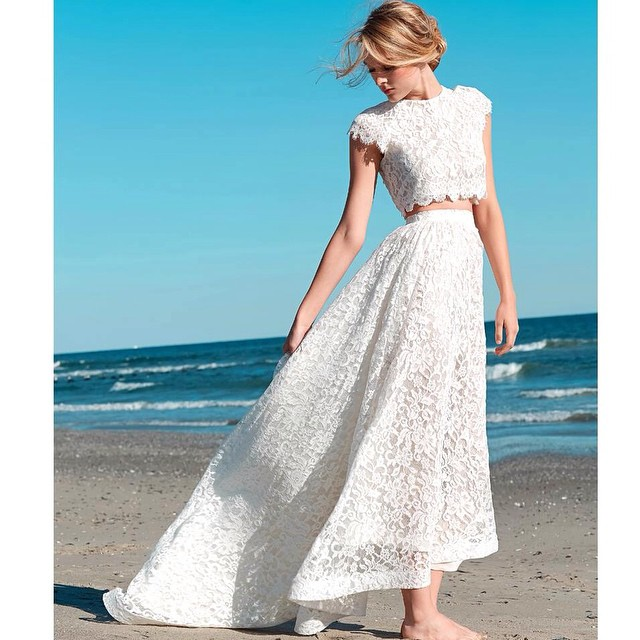 This gorgeousness is now available! And how amazing would it be to wear your top again🙈loves… #tatyanamerenyukbridal #tatyanamerenyuk #bride #boho #bohemian #bohobride #bohochick #bohemianwedding #bohemianbride #bride #whitedress #dress #fashion #nycdesigner #dress #top #skirt #lace #wedding #weddingdress #weddinginspiration #instagood