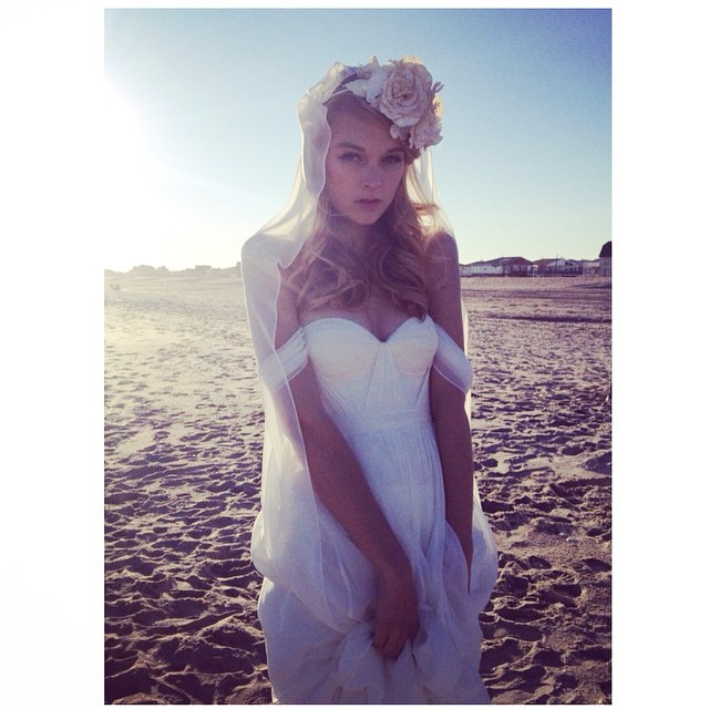 Sneak peak of today's Gloria's shoot on the New York Beaches with the gorgeous @kylieastew my dream girl💕 #tatyanamerenyuk #tatyanamerenyukbridal #bridal #bridaldress #bride #boho #bohobride #bohochick #beachwedding #weddinginspiration #weddingdress #wedding #dress #fashion #whitedress #pretty #model #beach