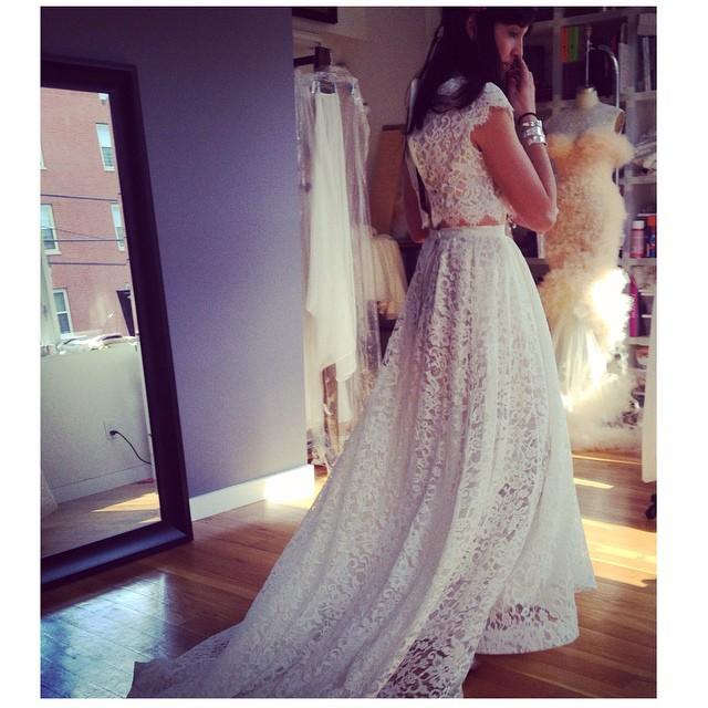 This loveliness happened today…new creations and new beautiful clients! #tatyanamerenyukbridal #tatyanamerenyuk #bride #boho #bohemian #bohochick #wedding #weddinginspiration #weddingdress #dress #fashion #nycdesigner