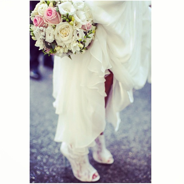 Ohhh I just can't wait to share the rest of the photos of my stunning French bride🙈 detail shot:). #tatyanamerenyukbridal #boho #bride #bohemian #bohochick #booties #lace#wedding #weddingdress #weddinginspiration #whitedress #flowers #bride #nycdesigner #fashion