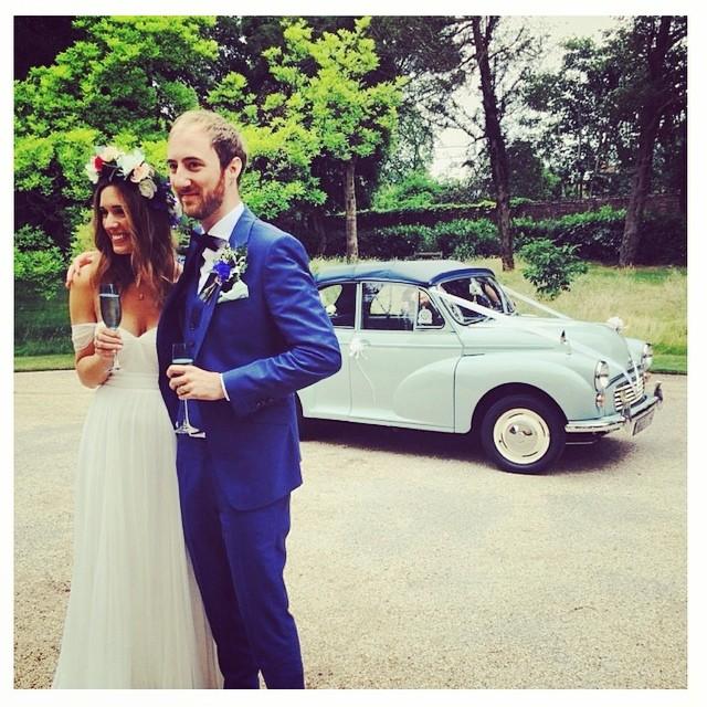 My gorgeous bride Anna I. Her custom gown… Looking oh so gorgeous! #tatyanamerenyukbridal #dress #fashion #flowers #bohobride #bohemian #boho #bohochick #whitedress #weddingdress #weddinginspiration #wedding #handmade #love #beutiful #bride