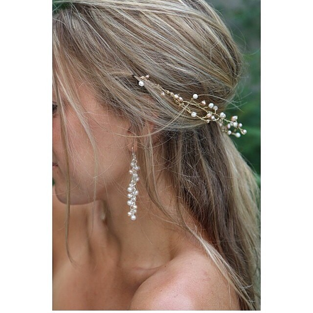 Sooo in love with this jewelry handmade by one of my clients @wherewatermelonsgrow !!! Can't wait to shoot them, they all look sooo good with my dresses. Thank you! ❤️❤️❤️ #repost picture ;). #jewlery #handmade #pretty #girl #wedding #weddinginspiration #bohobride #boho #hair