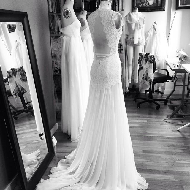 More gorgeousness on the way💃#ilovemyjob #nycdesigner #tatyanamerenyukdesigns #tatyanamerenyukbridal #dress #design #style #styles #studio #lace #gown #weddingdress #whitedress #weddinginspiration #nycdesigner