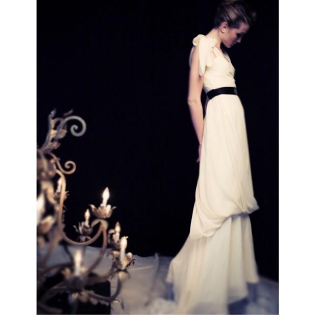 One of my favorites…. Photo by @billyrood dress by your truely❤️. #wedding #weddingdress #weddinginspiration #dress #tatyanamerenyukbridal #fashion #nycdesigner #draping #model #pretty #photoshoot
