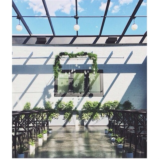 And how about this gorgeous location for a wedding in Brooklyn! @501union and @rkushnir oh I just can't wait to see more pictures… #weddinginspiration #wedding #501ynion #brooklyn #brooklynwedding