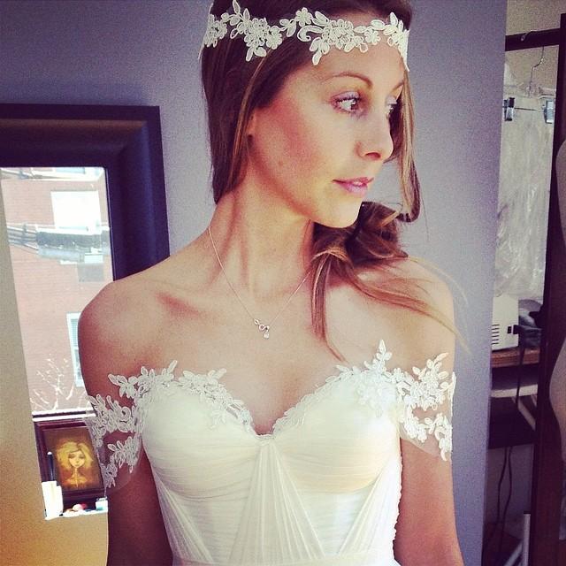 Working in beautiful new creations with lace and my favorite silk chiffon. #wedding #weddingidea #tatyanamerenyukbridal #love #lace #dress #design #weddingdress #weddingstyle #weddingfashion #boho #bride #beauty #pretty #headpiece