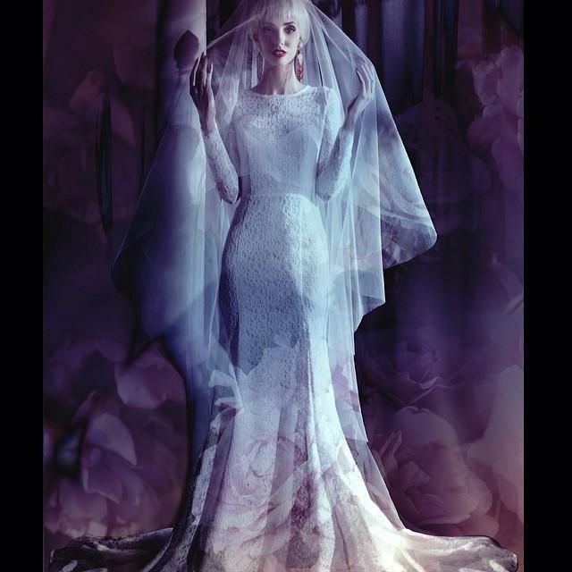 A fun editorial I did with the ever so fabulous @fuckingfaustina @orianamarie @obicymatica #vsadesigns #tatyanamerenyuk #dress #model #fashion #lace #dress #editorial #veil #bride #pretty #photooftheday #nycdesigner #photoshoot