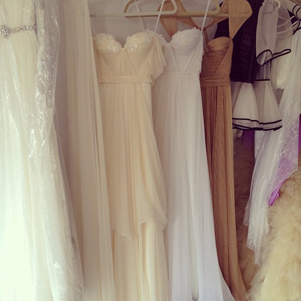 Organizing and creating new bridal/ gown line… So exciting. With many more options❤