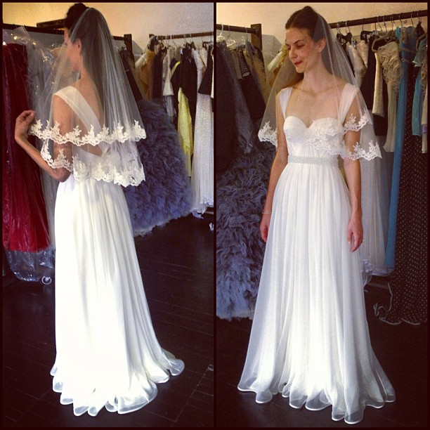 Fittings success, yay! Happy client =happy me.