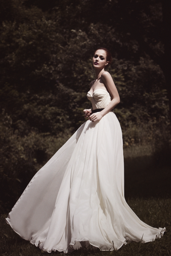 Beautifully captured… Annie Gown Photography by Aaron Kinney. model Ana Viviam MA Jennifer Nam Hair Carrie Butterworth