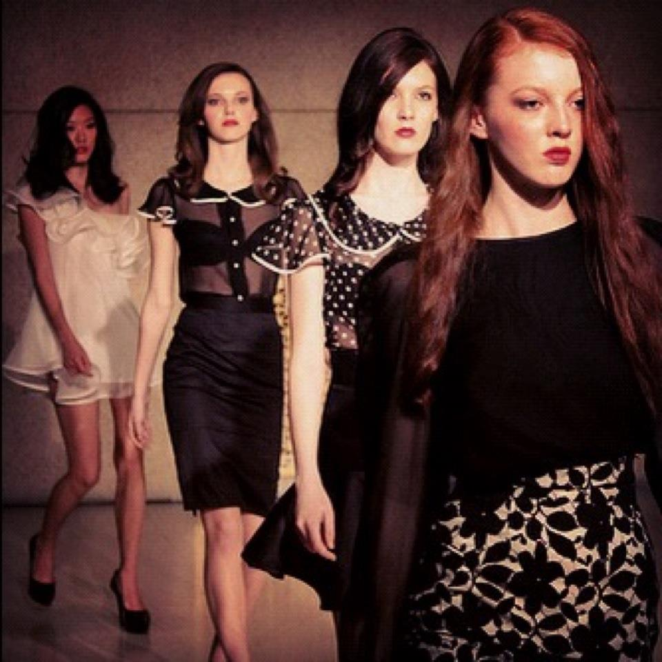 my pretty models…fashion show