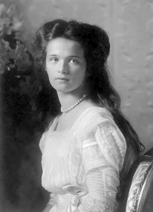 the Russian Empress~ romanovs: A formal photograph of Grand Duchess Olga.