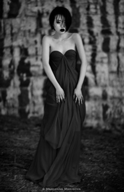 mariannamarisova: Christy in a gown by Tatyana Merenyuk.  With love, Marianna Marisova