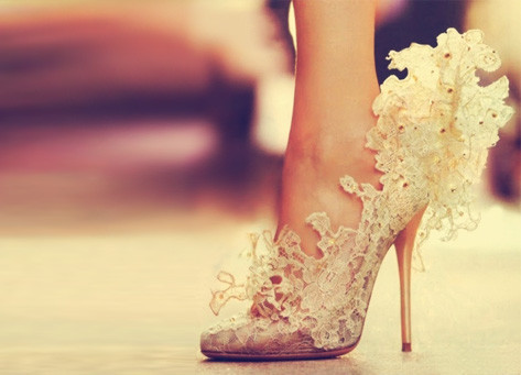 Such a pretty shoe! tumblr-nights: For more of these photos click here