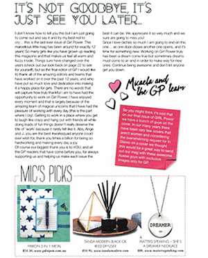 GIRL POWER MAGAZINE | SHE'S A DREAMER NECKLACE