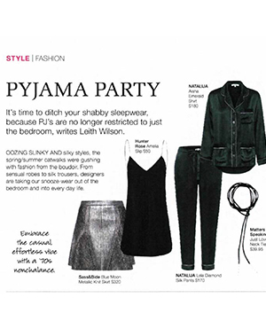 STYLE MAGAZINE | JUST LOVE BLACK LEATHER NECKTIE