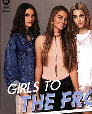 GIRLFRIEND | 'MODEL SEARCH 2016' JUST LOVE TAN LEATHER NECKTIE