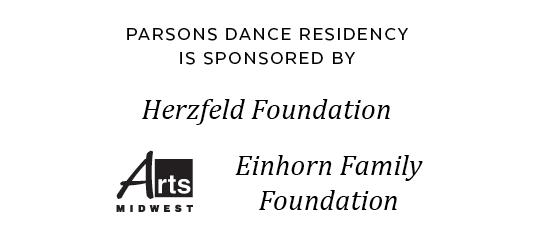 Parsons Dance Sponsors