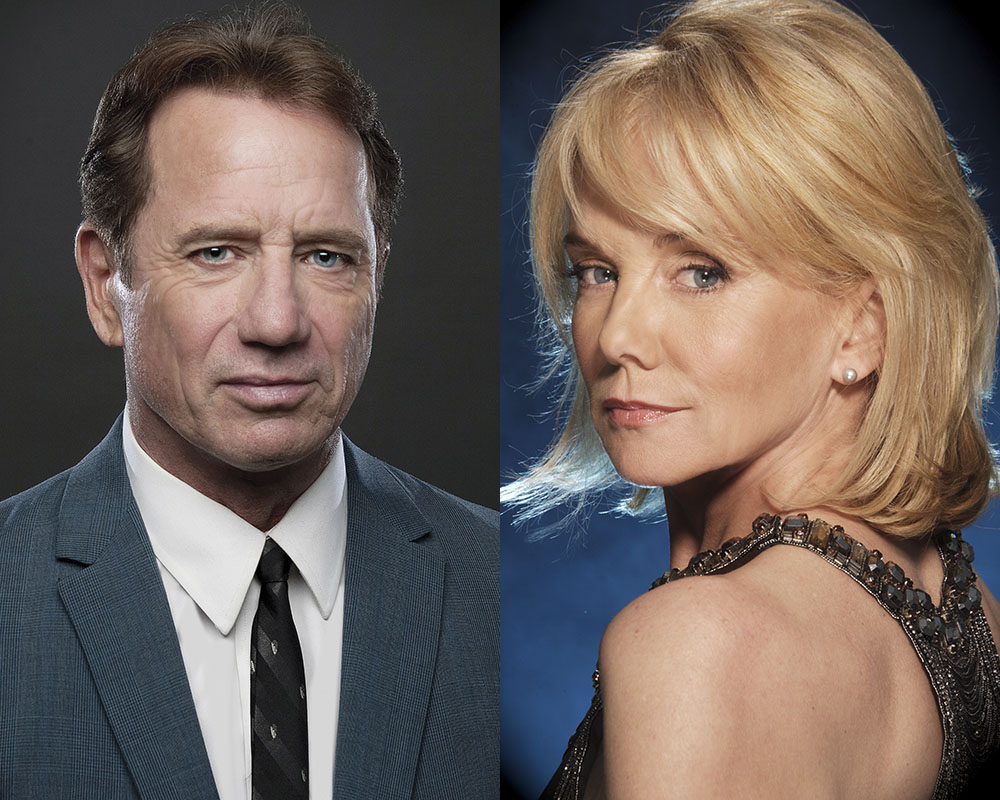 Tom Wopat and Linda Purl