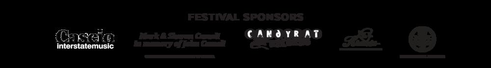 Guitar Festival Sponsors