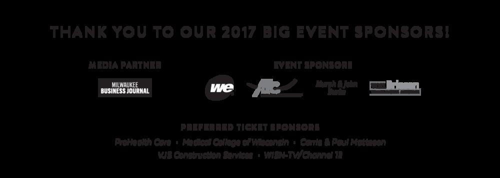 Big Event Sponsors