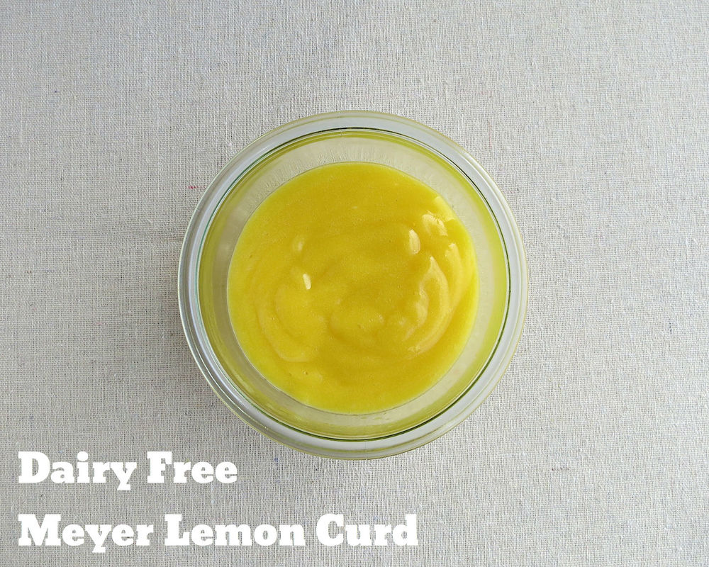 It's quite possible that Meyer Lemon Curd is one of my favorite things ...