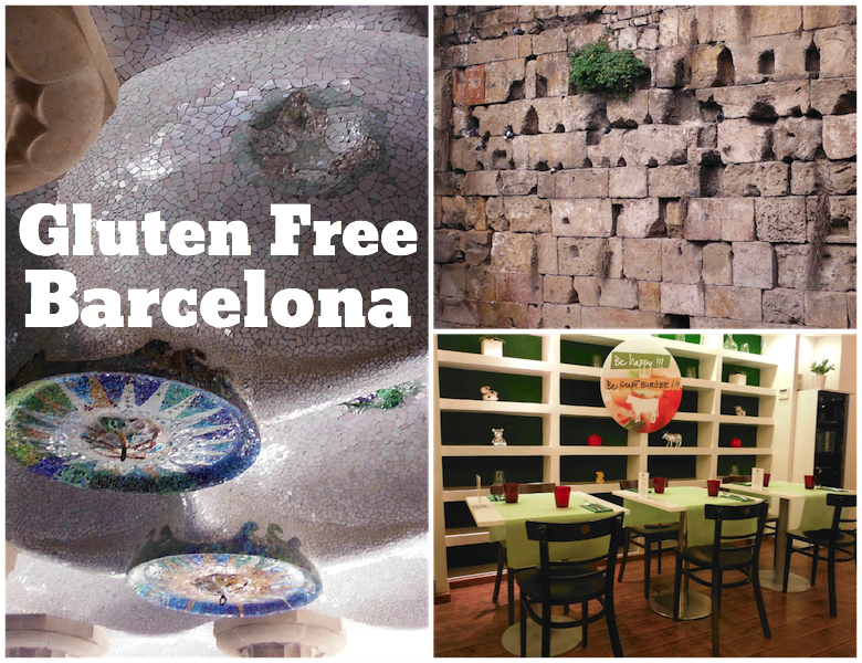 Gluten Free in Barcelona Spain
