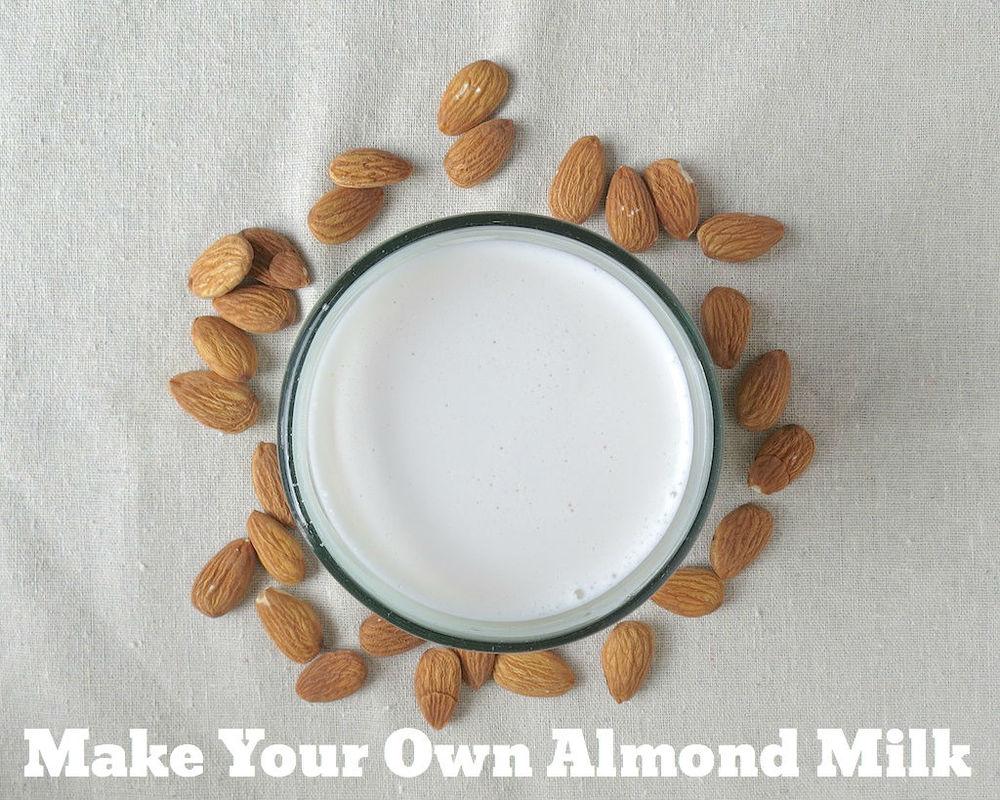 Homemade Almond Milk www.glutenfreetravelette.com