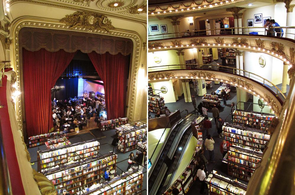 El Ateneo Bookstore Buenos Aires Argentina www.glutenfreetravelette.com