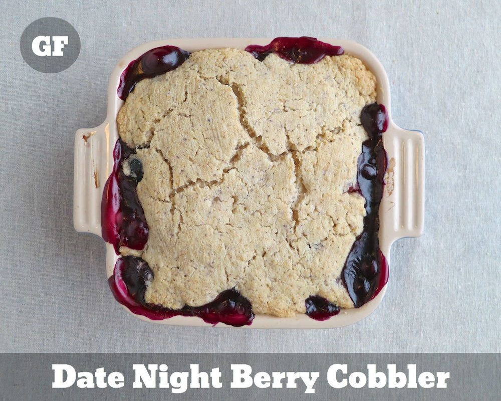 Gluten Free Date Night Berry Cobbler www.glutenfreetravelette.com