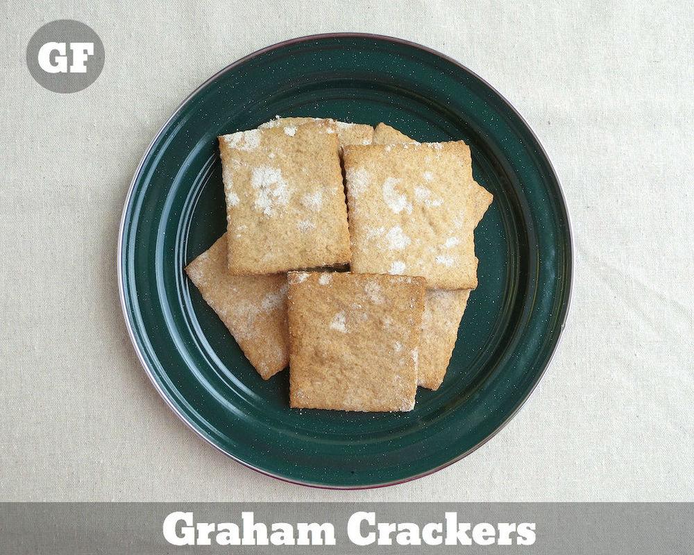 Gluten Free Graham Crackers for Smores www.glutenfreetravelette.com