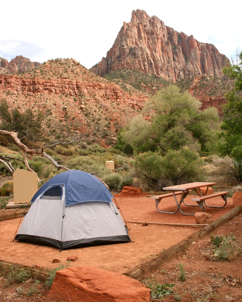 Camping in Zion National Park