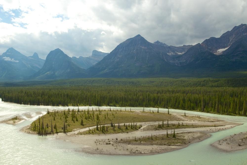 Athabasca River www.glutenfreetravelette.com