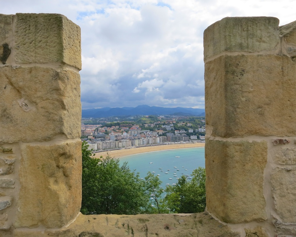 Explore Mount Urgull in San Sebastian Spain /