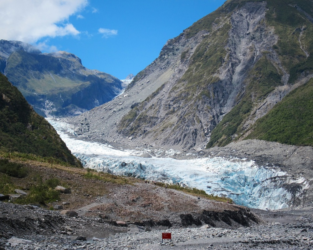 Visiting Fox Glacier New Zealand