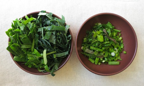 Meals From The Garden Greens Herb Pho Adina Marguerite