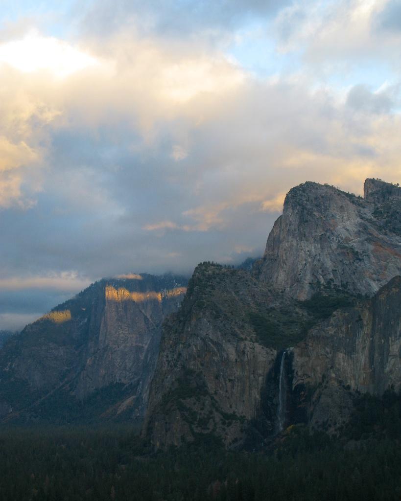 Sunset in Yosemite Valley