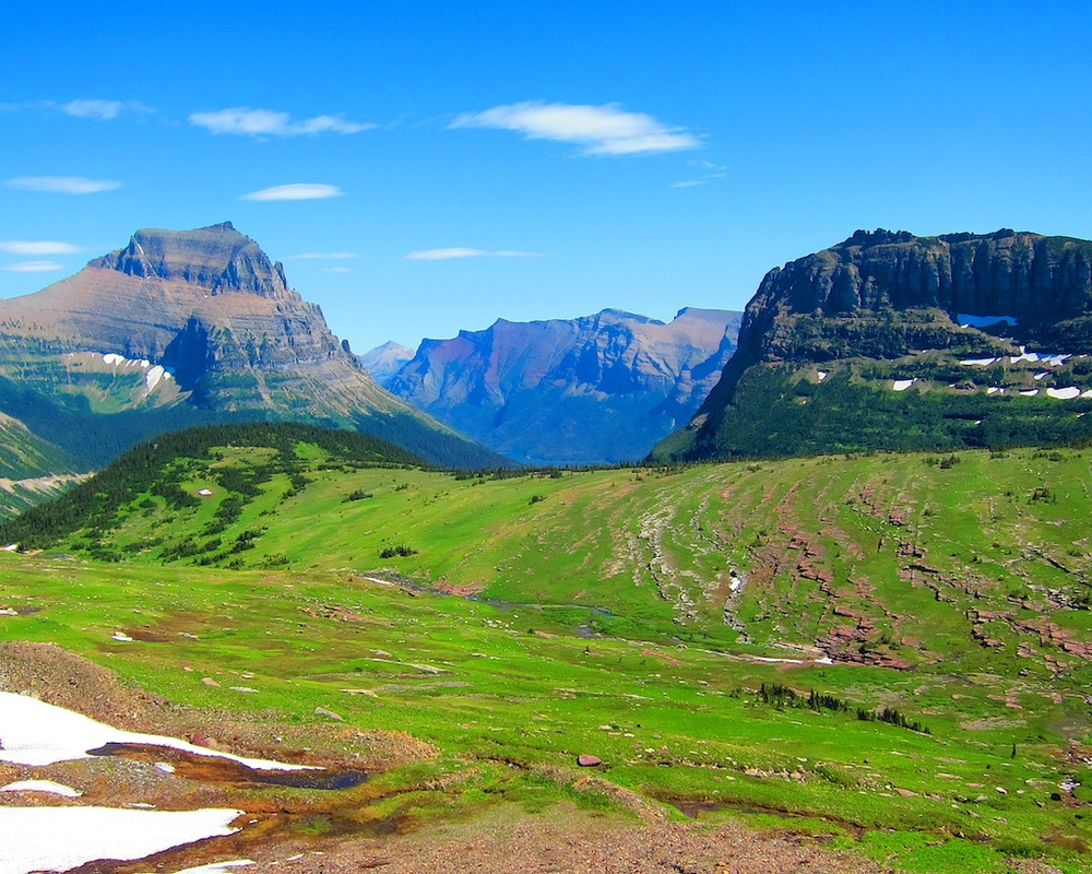 Logan Pass Glacier National Park Montana
