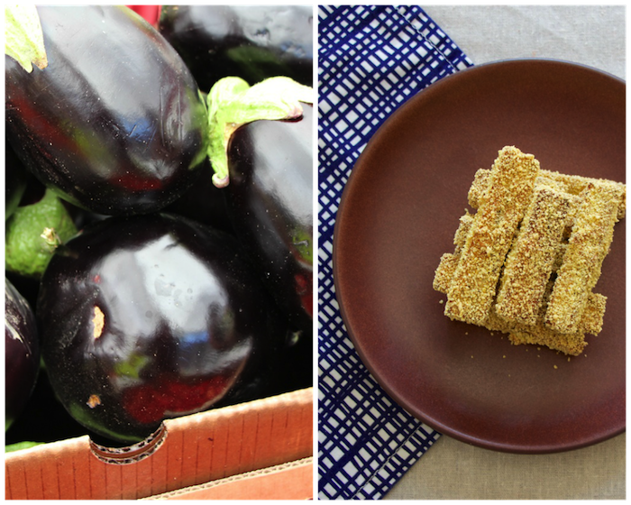 Eggplant Fries Gluten Free